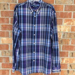 Chaps Custom Fit Men's Size XXL 100% Cotton